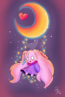 Heart Moon by ZantChan