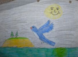 Me Circa 89-94:Island Fly Bird by Zanowin