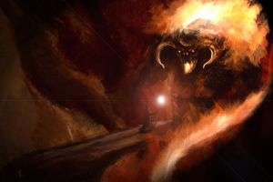 -balrog speedpaint- by SoulRansome