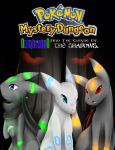 PMD: OumbreonO And The Curse Of The Shadows Poster by OumbreonO