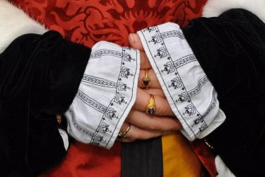 Katherine Howard Cuffs by VickitoriaEmbroidery