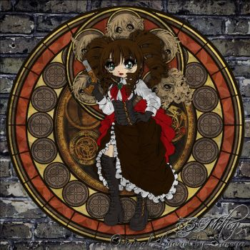 Steampunk Stained Glass by Saika-Elkhart
