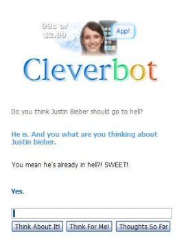 Justin Bieber Cleverbot 2 by Okima-san