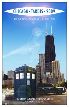 Chicago TARDIS cover mk2