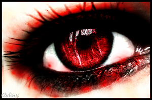 Red Eye Reflection by xVocaloidFanx