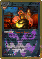 Gourgeist card - Halloween Set