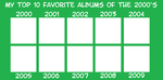 My Favorite Albums of the 2000's meme by JackHammer86