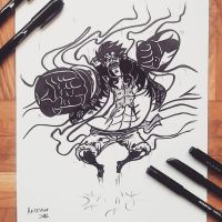Luffy Gear 4 by ArTestor