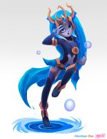 Atlantean Zoe by The0utlander