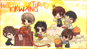 Happy Birthday Kikwang by The-Noodles