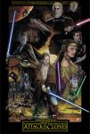 Star Wars, Episode Two: Attack of the Clones by TheGeekCanPaint