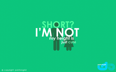 im not short, just CUTE (girl) by dmrez
