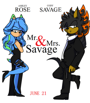 Mr. and Mrs. Savage by SonicRulez21