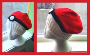 Pokemon hat by KnitLizzy