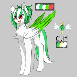 UPDATED: Shining Lucky Clover by Coldly-Painter
