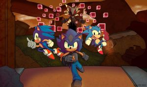 John in Sonic Forces by JohnTheBaratrian