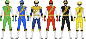 Requested: Power Rangers Prodigy Tune by Taiko554