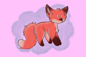 Chibi Fox by Luvulite-Obsidian