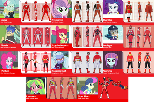 Equestria Girls Forever Red [Part 2] for saneman1 by AdrenalineRush1996
