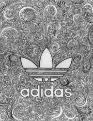 Adidas Doodle-BW by DowntownDoodler