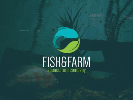 Fish and Farm Logo Template by BlinVarfi