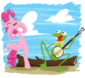 Pinkie and Kermit by AliasForRent