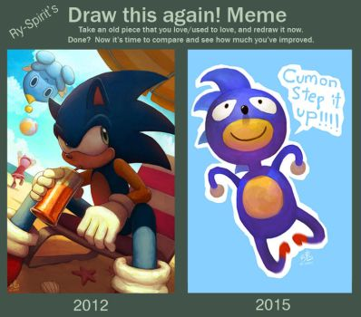 Ry-Spirit's Draw This Again Meme by Ry-Spirit