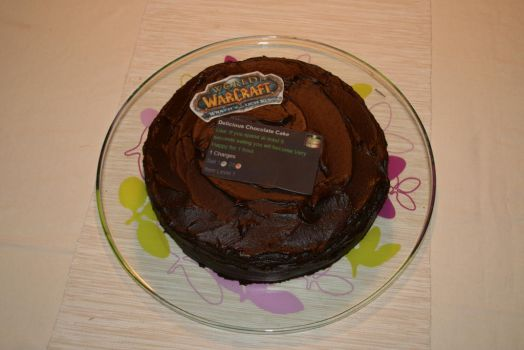 Delicious Chocolate Cake by Reuterberg