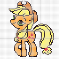 applejack pattern by Sailor-Phantom