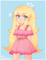 summer peach by kitiipng