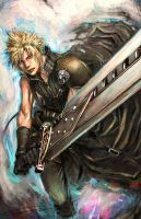Cloud Strife. by longai