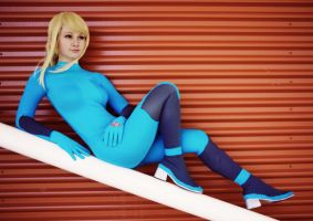 Metroid: Zero Suit Samus 2 by HayleyElise