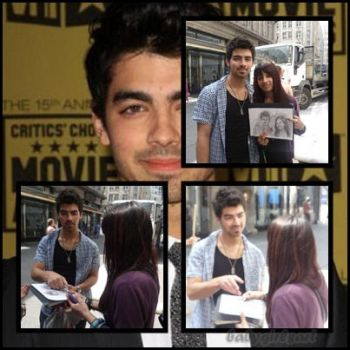 Meeting Joe Jonas by babygirlsart