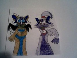 Mind Controlled Rouge and Blaze by PrincessShannon07