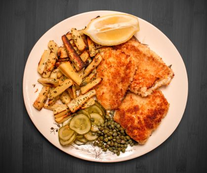 Haddock and parsnips by attomanen