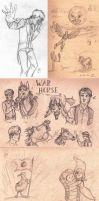 Sketchdump 5 -- Miscellaneous by MalimarTheMage