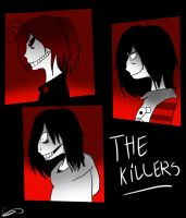 The killers .:+Speedpaint:. by Zelda-muffins