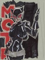 Selina Kyle, Catwoman by Hodges-Art