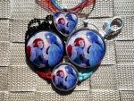 Patreon-Only Giveaway Prize: OOAK Glass Charms! by BlackManaBurning