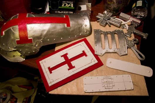 Abel Nightroad, Trinity Blood - Cosplay WIP by EminenceRain