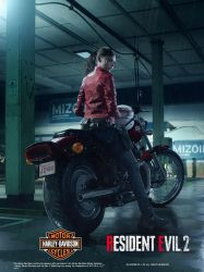 Resident Evil 2 Remake Claire Redfield Poster by xGamergreaserx