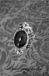 HANDMADE - Victorian Ring by IWantCandyCreation