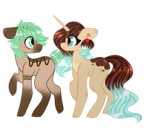 Mint Siblings by CandyCrusher3000