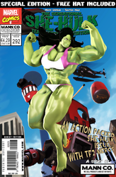 Sensational She-Hulk Comic Issue 292 - Deadnaught by Mark-Unread