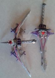 Serah's Bow and Sword