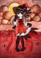 Wadanohara and the Great Red Sea by Cristigupa