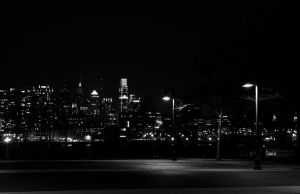 Philadelphia City Skyline Long Exposure 05 by FairieGoodMother