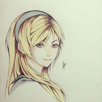 Leanne/Reanbell-Resonance of Fate/End of Eternity by thumbelin0811