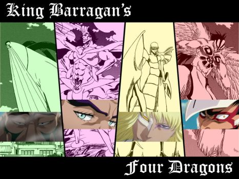Fraccion - Four Dragons by flare8521