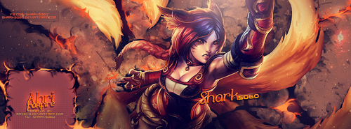 Request - Ahri Foxfire by mazeko